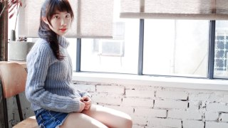 Lavender Purple Sweater with Reddish Brown Boots | 當薰衣草紫遇見紅褐色