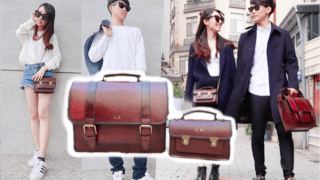 Beara Beara英式復古包 x 情侶穿搭|Matching Couple Outfits ft. Beara Beara Bags