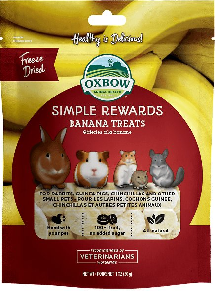 Genuine Roll Over Image To Zoom Oxbow Rewards Banana Small Animal Can Lionhead Rabbits Eat Bananas Can Rabbits Eat Banana Skin Peel houzz-03 Can Rabbits Eat Bananas