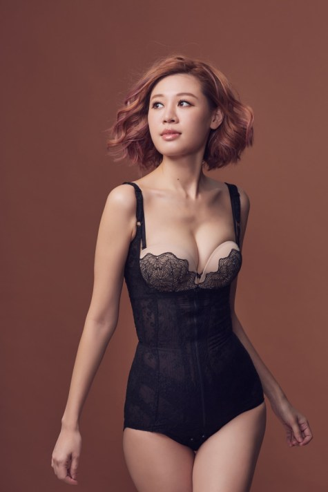 穿了第四個年頭的史上最薄透美沒有之一塑身衣_LADYLIN LINGERIE