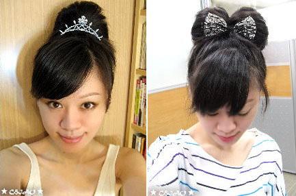 愛創新髮型【蝴蝶結頭 & 扇子頭】
