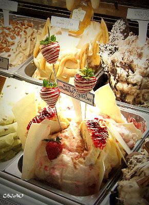 拉斯維加斯–夏涼消暑【Gelato & Sorbet】雪糕&雪酪