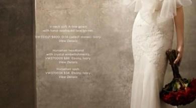 全世界幸福女人都為之瘋狂的婚纱女王Vera Wang