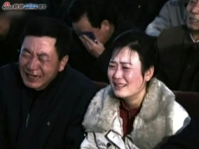North Koreans mourn the loss of their leader Kim Jong-il.