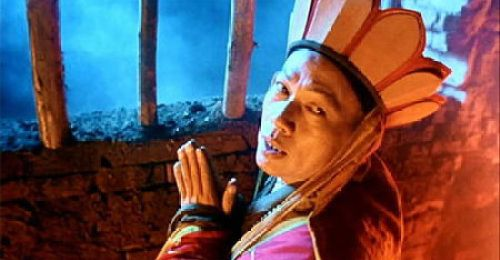 Xuanzang from the movie The Chinese Odyssey