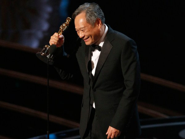 "Chinese director Ang Lee wins Best Director Oscar for ""Life of Pi"" at the 85th Academy Awards."