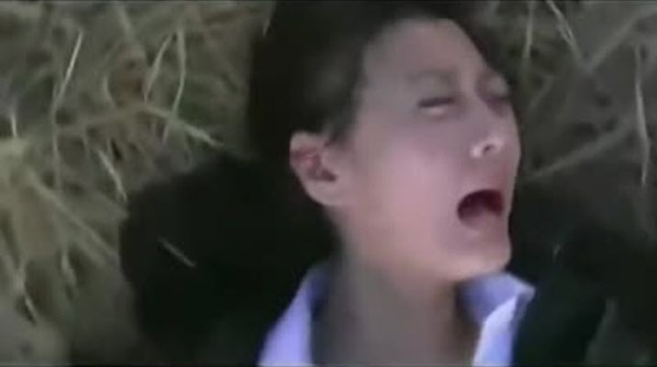 Chinese woman being gang-raped by Imperial Japanese soldiers in a Chinese TV series.