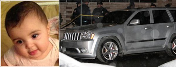 Ayanna Julbe and stolen Jeep.