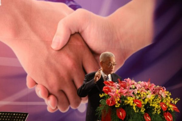 Taiwan vice-president ridicule china only 20 countries grant chinese citizens visa free access