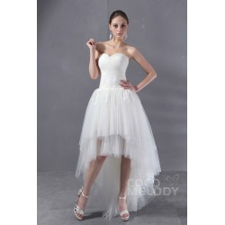 Small Crop Of Tulle Wedding Dress