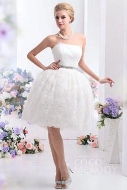 Famed Vintage Ball Gown Strapless Knee Length Wedding Dress Ball Gown Strapless Knee Length Organza Wedding Dress Knee Length Wedding Dresses Pinterest Knee Length Wedding Dresses Ebay