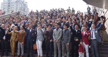 2015 Suit Walk之300位西裝型男齊聚台北101