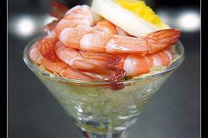 [西餐]開味菜  鮮蝦盅附考克醬