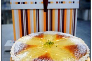 [西點烘焙]香草杏仁洋梨塔