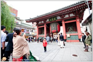 [日本關東楓紅之旅1-2]淺草:淺草觀音寺到東武日光
