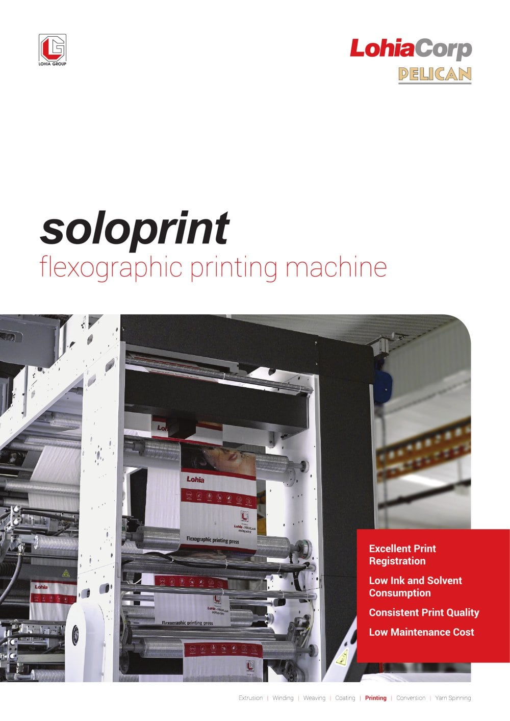 Printing Machines   Lohia Corp Limited   PDF Catalogue   Technical     Printing Machines   1   4 Pages