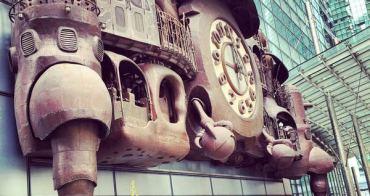 [東京] 汐留日本電視台塔【宮崎駿大時鐘】宮崎駿迷必訪的免費景點(內有影片)