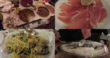 [義大利] Ristorante Da Ilia 米蘭餐廳推薦 - 料理美味價位中等的義大利餐館,整車甜點自己選