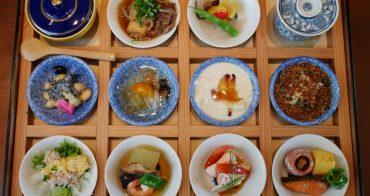 東京 晴空塔美食推薦 國見和食 - 超精緻午間季節小鉢和風定食、享受31層樓高空景觀