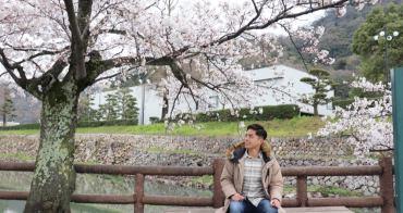 鳥取|鳥取城跡、久松公園 - 鳥取市賞櫻秘境推薦,櫻花盛開與斷壁殘垣之間的美麗