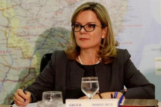 Senadora Gleisi Hoffmann (PT-PR)