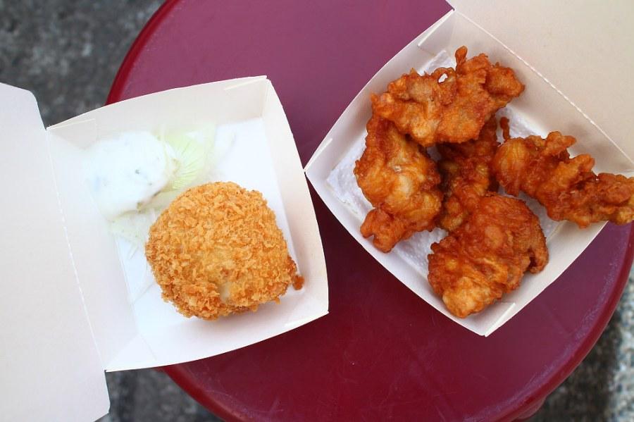 高雄 午後小點心,有點餓有點想,炸雞酥脆肥嫩好滋味 高雄市不定區|一串炸 胖卡行動餐車