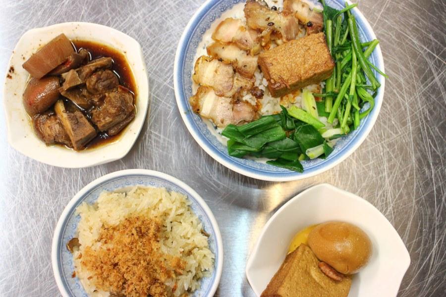 台南 金華路宵夜新選擇,透心豬腳x豬肉飯,油香開胃超滿足 台南市中西區|米哥麻油米糕金華店