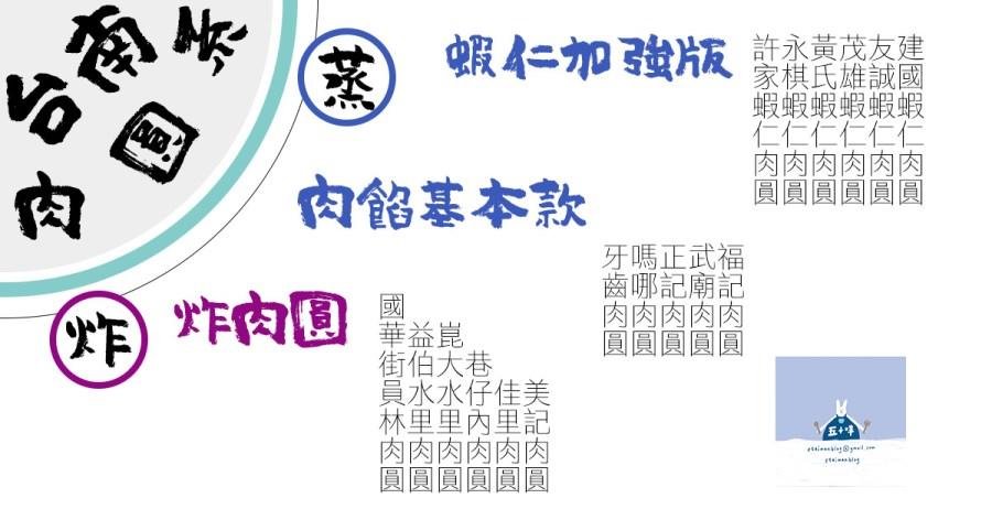 台南美食小吃之一「肉圓」蒸的、炸的、蝦仁升級版,想吃哪一種? 台南肉圓懶人包
