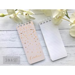 Invigorating Nurses Personalized Notepads Etsy Personalized Note Pads Personalized Notepads Blush Pink Spiral Set Personalized Note Grocery Stocking Rose G Blush Pink Spiral Set
