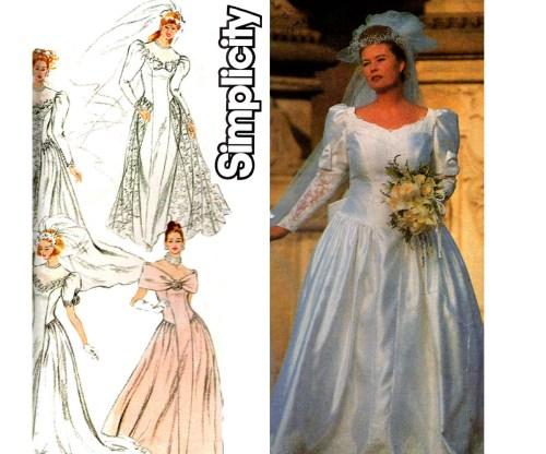 Medium Of Wedding Dress Patterns
