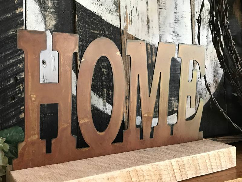 Large Of Rustic Metal Home Decor