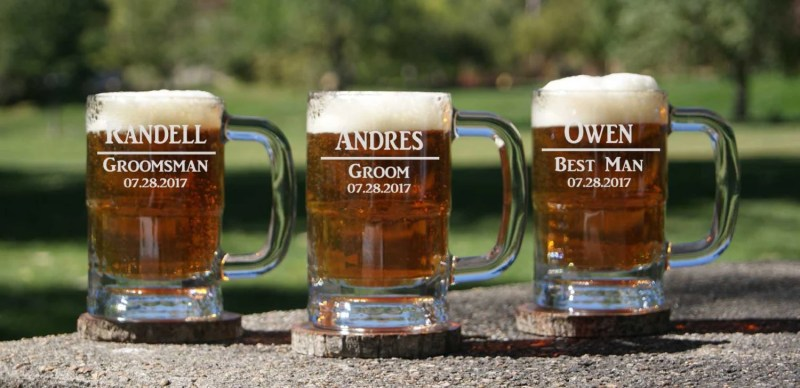 Large Of Personalized Beer Glasses