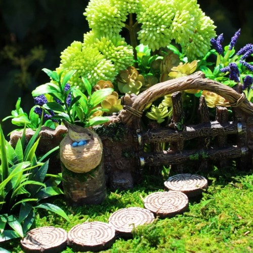 Medium Of Outdoor Miniature Garden