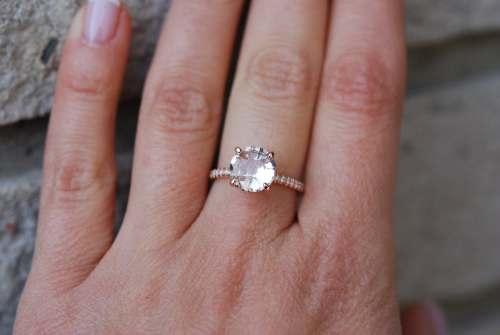 Medium Of Round Engagement Rings
