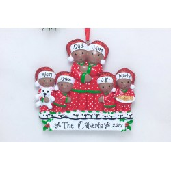 Small Crop Of Personalized Family Christmas Ornaments