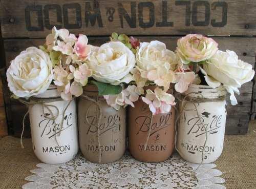 Medium Of Mason Jar Decorations