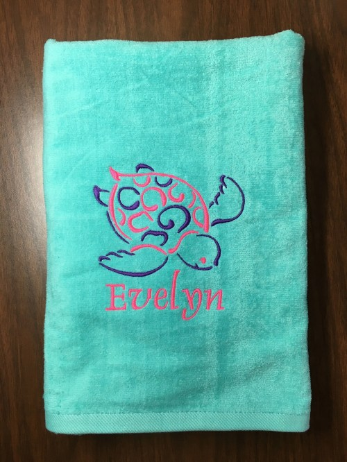 Medium Of Personalized Beach Towels