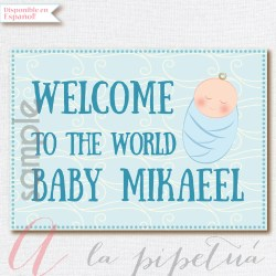 Dazzling Welcome Baby Sign Welcome Baby Sign Welcome Baby Boy Wishes Welcome Baby Boy Decorations