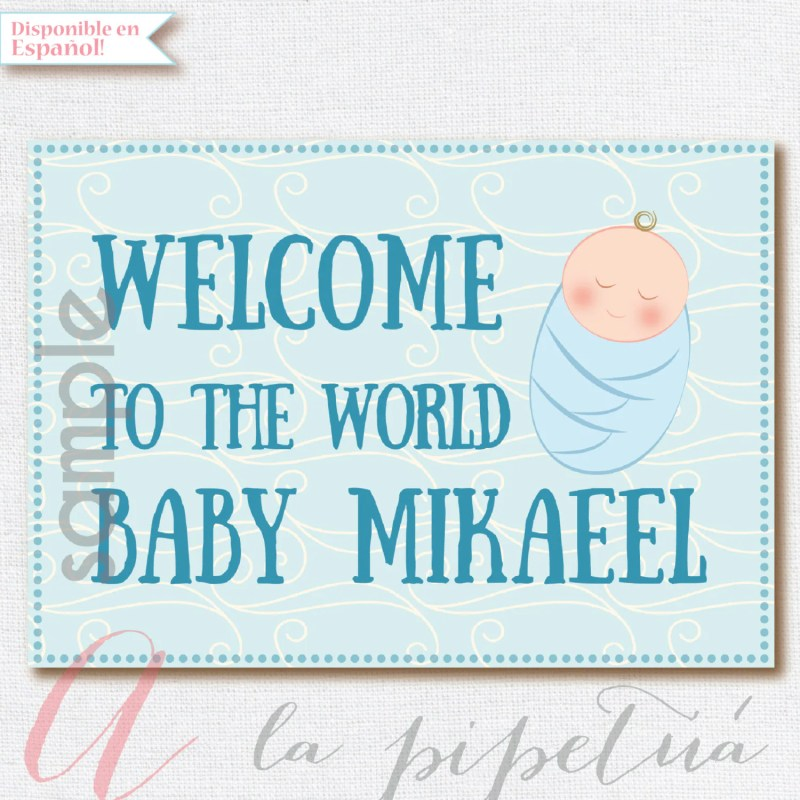 Large Of Welcome Baby Boy