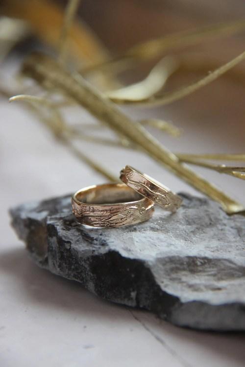 Medium Of Unique Wedding Rings