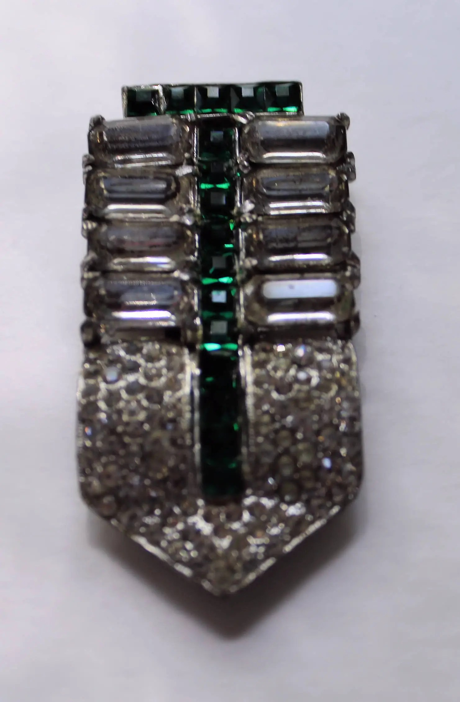 First Vintage Art Deco Emerald Dress Clip Art Deco Jewelry Rhinestone Jewelryrhinestone Dress Clip Vintage Art Deco Emerald Dress Clip Art Deco Jewelry Rhinestone wedding jewelry Art Deco Jewelry