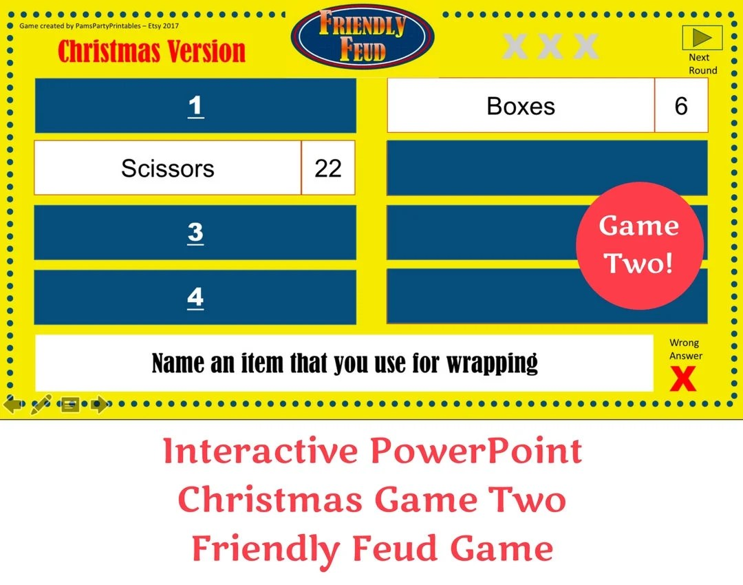 Fullsize Of Christmas Family Feud