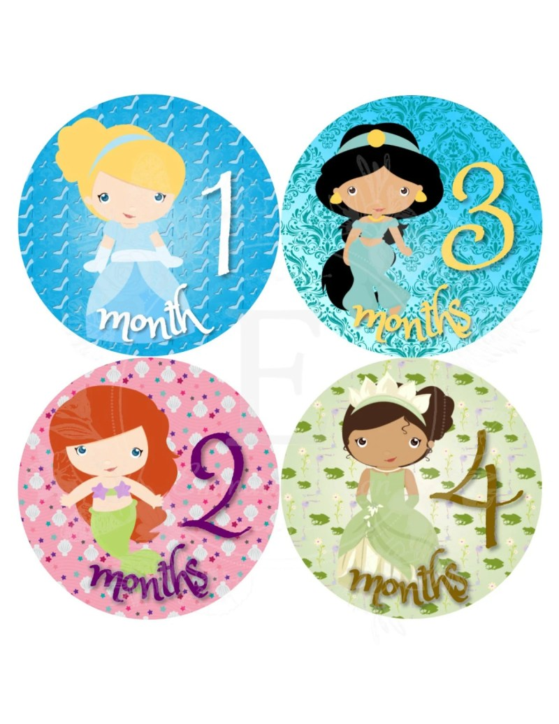 Large Of Baby Month Stickers