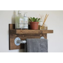 Small Crop Of Industrial Bathroom Shelf