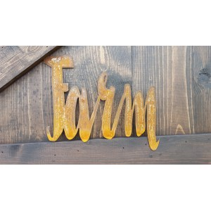 Fabulous Word Metal Word Farmhouse Rustic Home Rusticmetal Farmhouse Country Vintage Style Word Metal Word Farmhouse Rustic Home Wholesale Rustic Metal Home Decor
