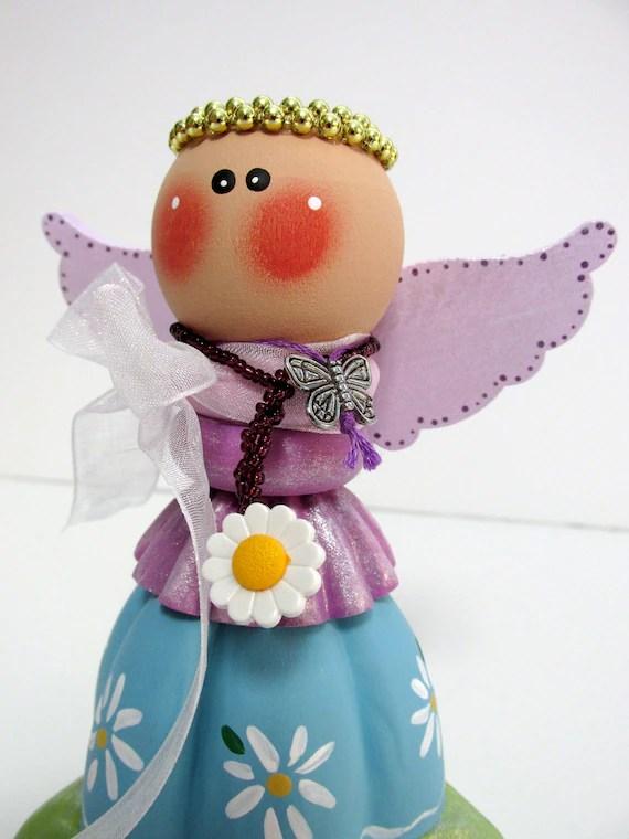 Daisy Flower Loving Angel Vintage Jello Mold Angel Mixed