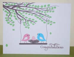 Piquant Congratulations New Baby Card Personalized Baby Card Congrats New Baby Card Congratulations On Your Baby Boy Images Congratulations On Your Baby Boy Baby Shower