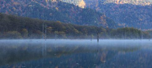 【熱血背包女】秋遊北陸❧上高地住一晚:清晨的魔幻大正池&神降地明神池~仙境美景就在眼前❤