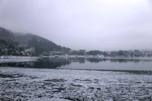 【一個人旅行】富士五湖Day2~在大雪紛飛的河口湖 漫步尋找富士山(久保田一竹美術館、河口湖美術館)