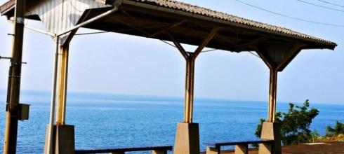 【一個人旅行】2014初夏§一個人的四國浪漫之旅:鐵道迷必來!不輸多良~在青春18聞名的下灘站,尋找神隱少女海上鐵道